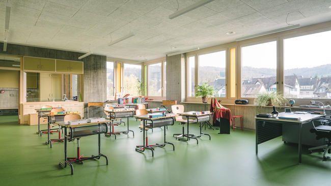 Neubau Schulhaus Grammel Lausen 03
