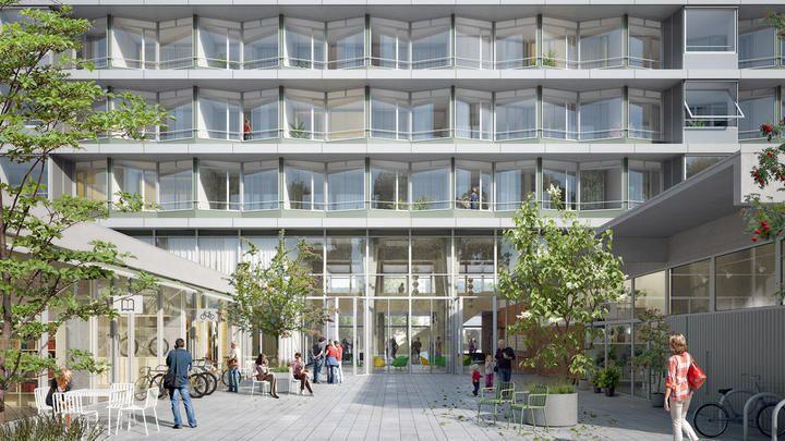 Siegerprojekt Felix Platterspital Aussenansicht