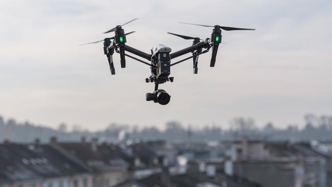 Motorisierte Vogelperspektive mit Zukunft