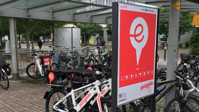 Pick-e-Bike Station Arlesheim
