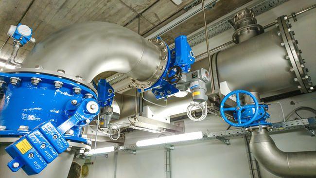 Druckstoss Pumpwerk Rohwasser 2