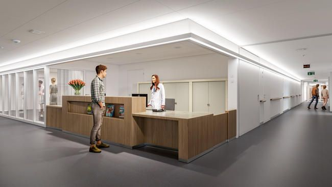 Visualisierung Ersatzneubau Bettenhaus Empfang1