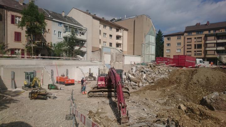 Rückbau Thannerstrasse Basel 06