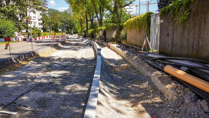 Gesamtsanierung Friedhofstrasse Birsfelden