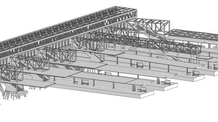 SBB Passerelle-Basel-Konstruktion