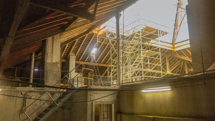 Dachsanierung Badischer Bahnhof