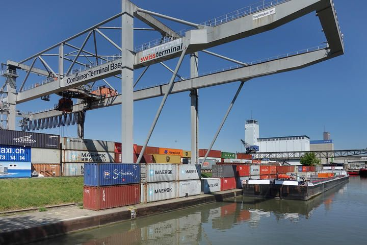 RT-Trimodaler Containerterminal