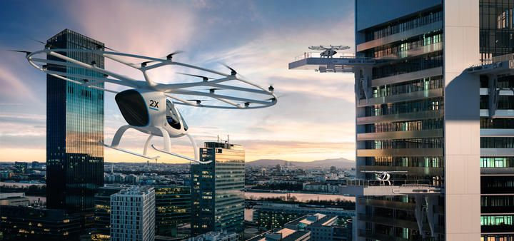 RT-Volocopter Cityflug